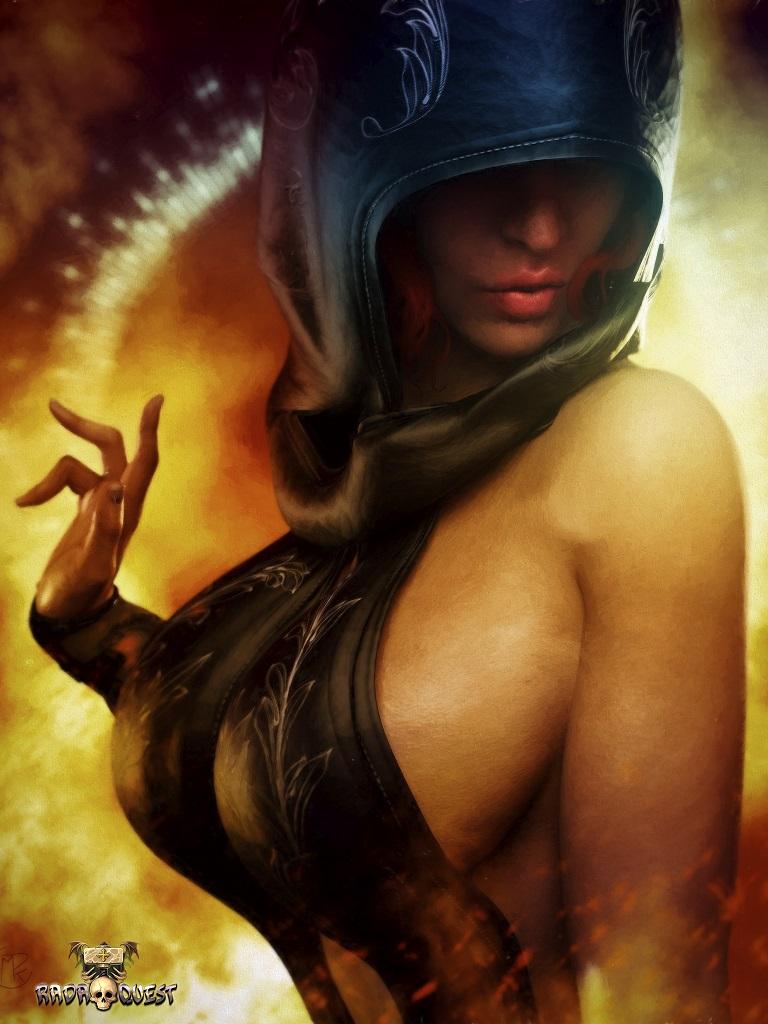 Alicena (Fire Priestess)